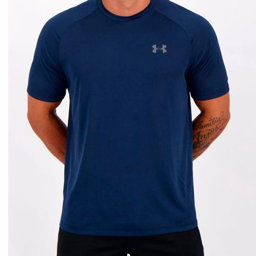 creer innovación Juventud  Camiseta Under Armour Tech 2.0 Masculina - Marinho - Novo Mundo Mobile